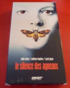 VHS-Movie-Le-Silence-des-Agneaux-Version-Francaise