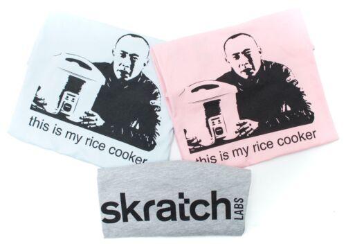 skratch LABS Rice Cooker T-shirt Adult Lightweight Cotton Fitted Dr Allen Lim