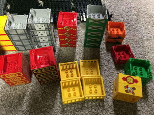 lego duplo train car truck body 4X4 top special castle 4X8 base