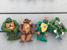 Teenage Mutant Ninja Turtles Cave Turtles Lot of 4