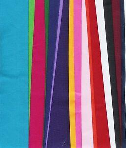 Grosgrain ribbon solid 20 yds 2 in.ribbon 20 colors plus bonus 3//8 Lot C