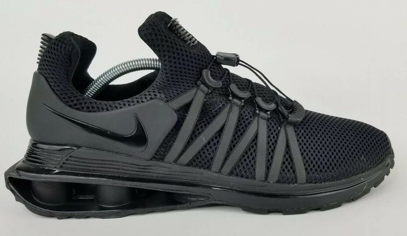 Nike Mens Size 10.5 Shox Gravity Running Training shoes Black AR1999-001 No Box