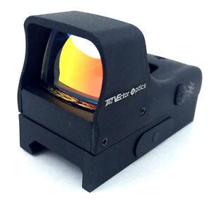 Vector Optics Hellbat 1x28x20 SUPER BRIGHT Red Dot Reflex Sight Gun Rifle