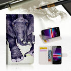 Elephant Wallet TPU Case Cover For HUAWEI Y6 Elite 4G -- A007