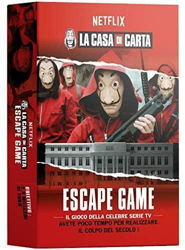 LA CASA DI CARTA ESCAPE GAME GIOCO DA TAVOLO MS EDIZIONI
