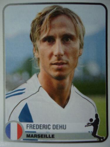 Panini 234 Frederic Dehu Olympique Marseille Champions of Europe 1955-2005