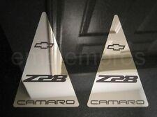 GM LICENSED CUSTOM LS1 93-02 CAMARO Z28 FILL EMBLEM BADGES SET STAINLESS STEEL