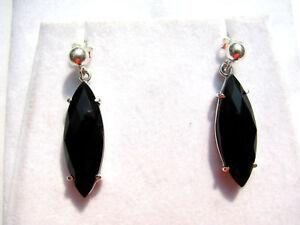 Spinell-facett-Ohrhaenger-925-Silber-Spinel-earrings-Nr-E7476