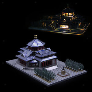 3D Metal Jigsaw Puzzle Toy China History Taihe Palace Statue Decor Souvenirs