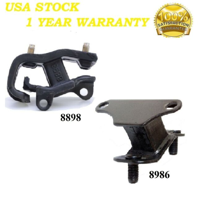 2 PCS FRONT & REAR TRANS MOUNT FIT 2001-2003 Acura CL 3.2L