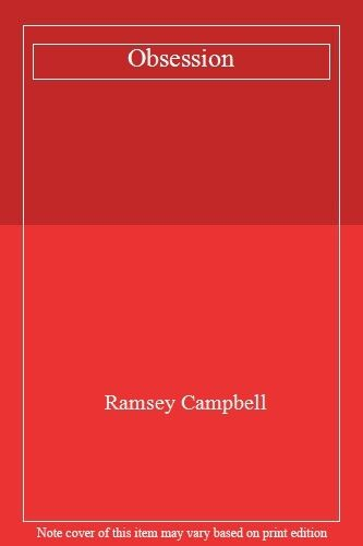 1 of 1 - Obsession By Ramsey Campbell. 9780708843963