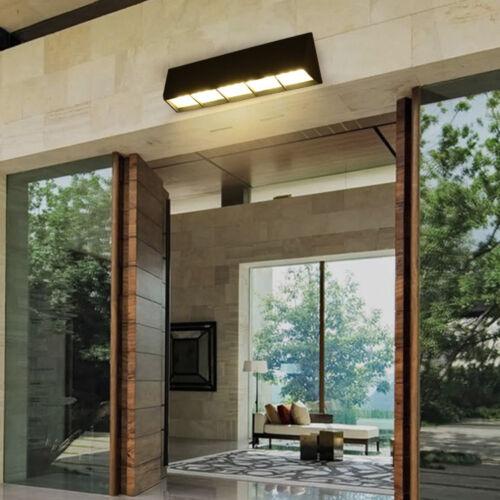 Waterproof LED Outdoor Wall Fixture Light Garden Exterior Lamp Door Patio Porch