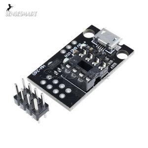 Development Programmer Board for ATtiny13A/ATti<wbr/>ny25/ATtiny45/<wbr/>ATtiny85 ST