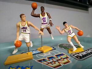 Kenner Starting Lineup Karl Malone, John Stockton, Jeff Hornacek Utah Jazz Lot
