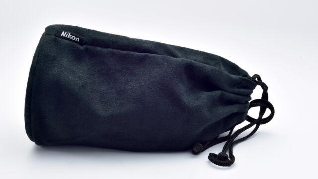 Genuine Nikon CL-1225 Black Soft Lens Case Pouch AF-S NIKKOR 70-200mm f/4G ED VR