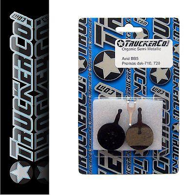 1 pr TruckerCo S  Disc Brake Pads AVID Mechanical BB5 Organic osm2