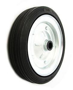 Vollgummi Reifen Stahlfelge 80-250mm Rollen Transportrollen Rad Räder Rolle