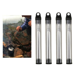 Portable Bellow Telescopic Blowpipe Blow Fire Tube Outdoor Tool Camping Sur M0E5