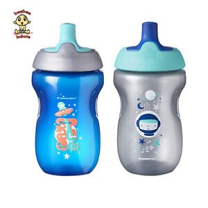 Tommee-Tippee-Sippy-Cups-12-months-10oz-2-pack-Authentic-amp-Brand-New