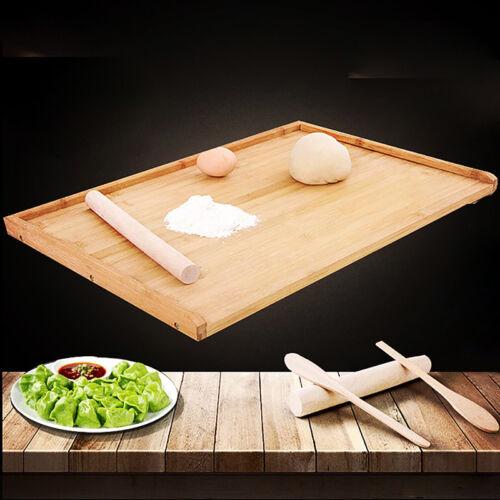 3Pcs Wooden Baking Set Kids Rolling Pin Spoon Spatula Kit Kitchen Tools 8C