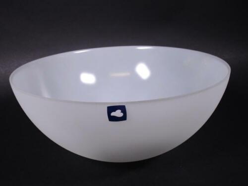 Leonardo Glasschale satiniertes Weiß ca 30cm Ø NWH986
