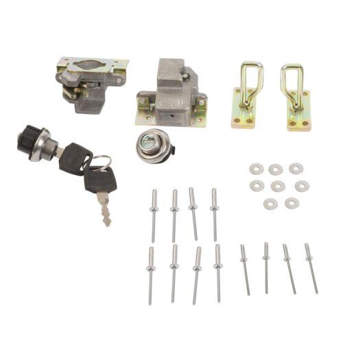 Kimpex Lock for Trunk Box Bulk 2 Keys Fits All Kimpex ATV Trunk Up to 2013