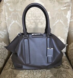 017105e91c58 Image is loading NWT-Michael-Kors-Collection-Lexi-Large-Soft-Leather-