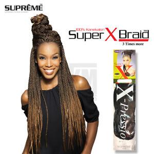 Details about Xpression Braid Supreme Super