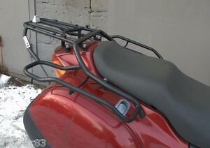 Honda NT650V Deauville Whole-Welded Luggage Rack System Black Mmoto HON0082