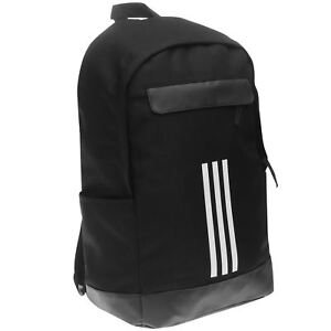 eacf6a93d7a5 Details about adidas Unisex Classic 3 Stripe Backpack Back Pack Zip Mesh