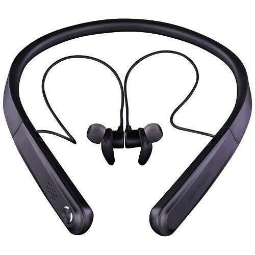 Blackweb Wireless Bluetooth Neckband Earbuds Black Sport For Sale Online Ebay