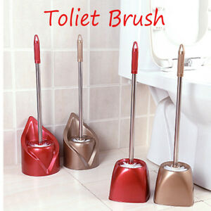 Stainless Steel Bathroom Cleaning Toilet Brushes Holder Sets Home Toilet Brush