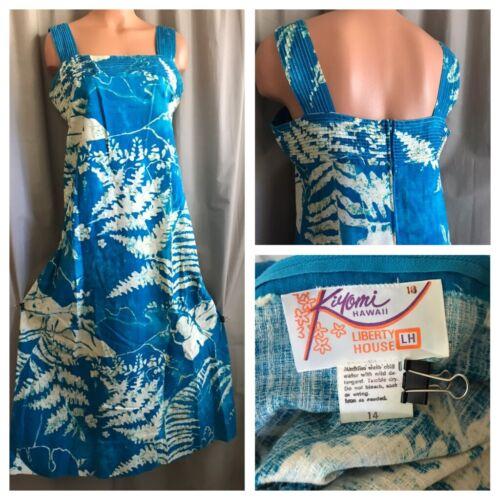 Vintage Kiyomi HAWAII LIBERTY HOUSE Dress 14