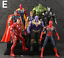 10Pcs-Avengers-3-Action-Figure-Marvel-Captain-America-Spider-Man-Iron-Man-Doll thumbnail 16
