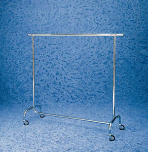 Stand negozio stender appendiabiti acciaio cromato for Stender appendiabiti bricoman