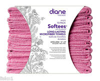 Diane Softees Microfiber Salon-nail-spa Stain Resistant Towel,16x29 Pink