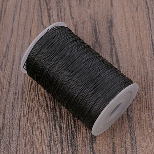 0.45mm Waxed Lined Thread Hand Stitching Cord Thread for Leather Sewing Craft