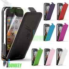 CUSTODIA CASE FLIP COVER PER APPLE IPHONE 4 4S PELLE LIBRO MAGNETICA