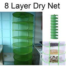 60cm x 8 Tiers Hydroponics Indoor Grow Tent Dry Drying Net Rack Plant Grower AU  sc 1 st  eBay & 2ft 60cm X 8 Tiers Hydroponics Indoor Grow Tent Dry Drying Net ...