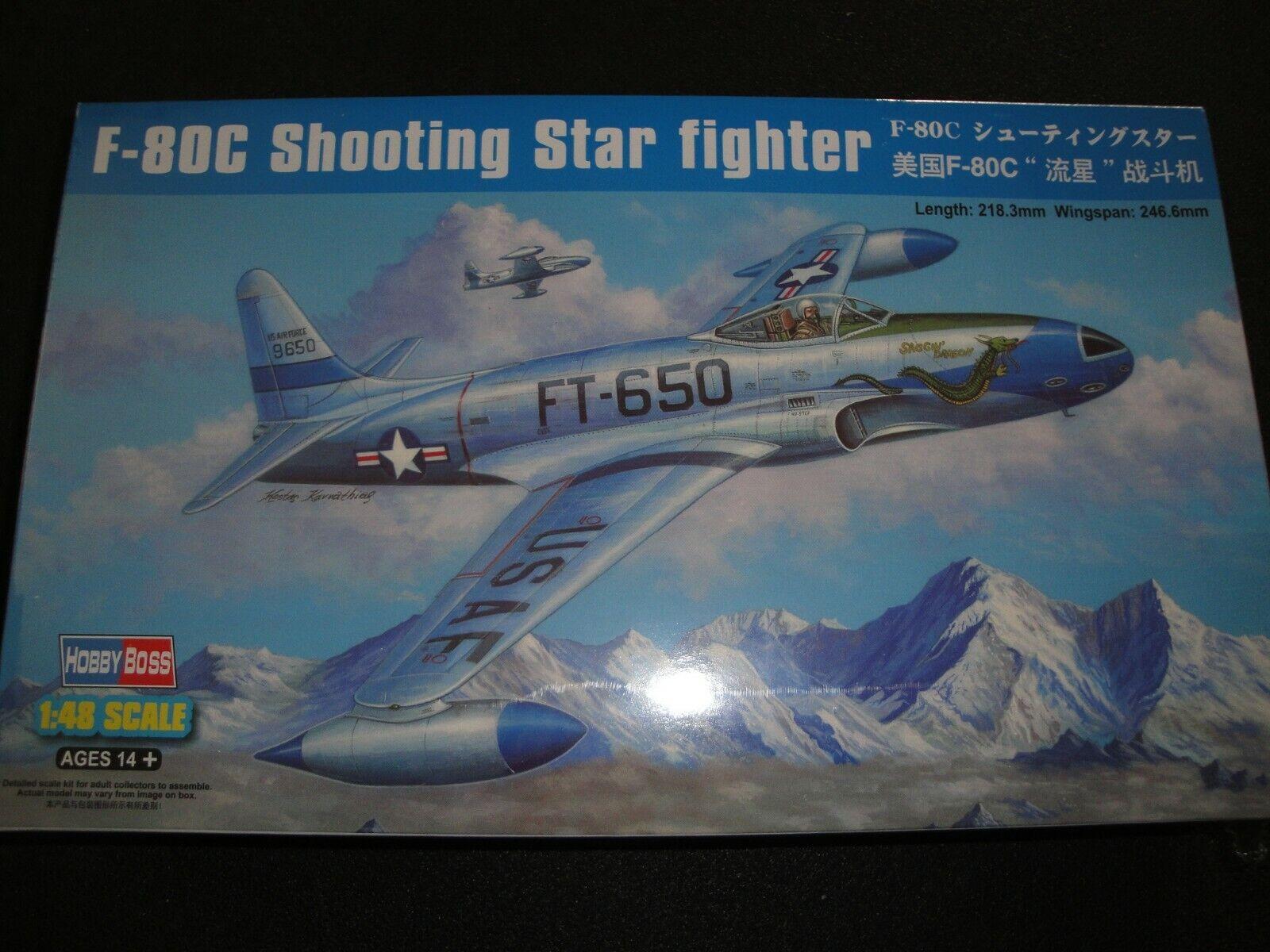 HOBBY BOSS 1 48 F-80C  Shooting Star  81725 New