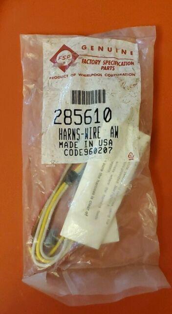 285610 Whirlpool Washing Machine Wig Wag Wire Harness Kit NEW Sealed OEM    eBay   Wig Wag Wire Harness      eBay