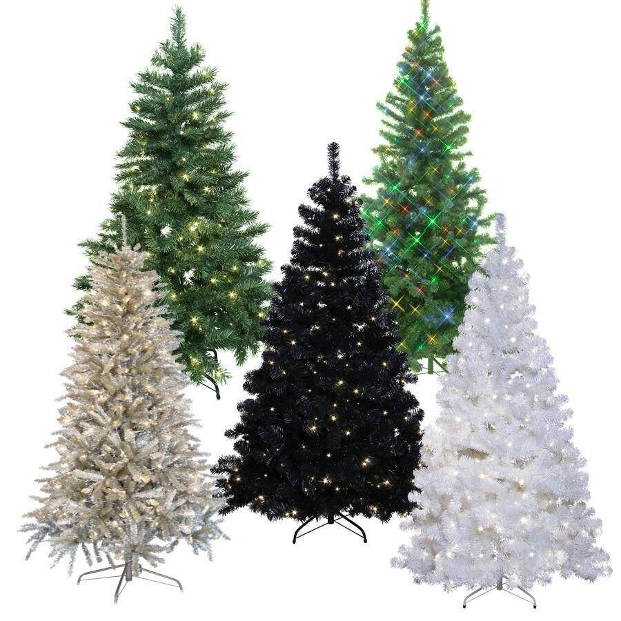 Árbol de Navidad LED para interior y exterior artificiales de árbol de Navidad LED iluminado