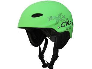 Concept-X-Wassersport-Schutz-Helm-Kite-Surf-Segeln-Wakeboarden-Grose-XL-grun