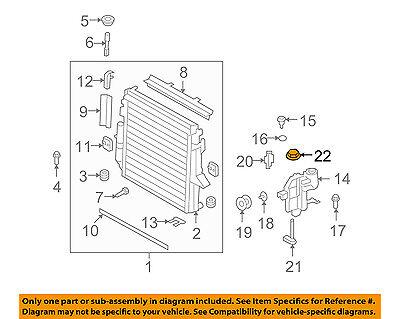 Coolant Overflow Reservoir Bottle for 05-09 Land Rover LR3 4.0L V6 or 4.4L V8