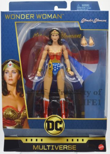 DC Multi-Univers Deluxe Figure Wonder Woman Linda Lynda Carter Free S//H!!!