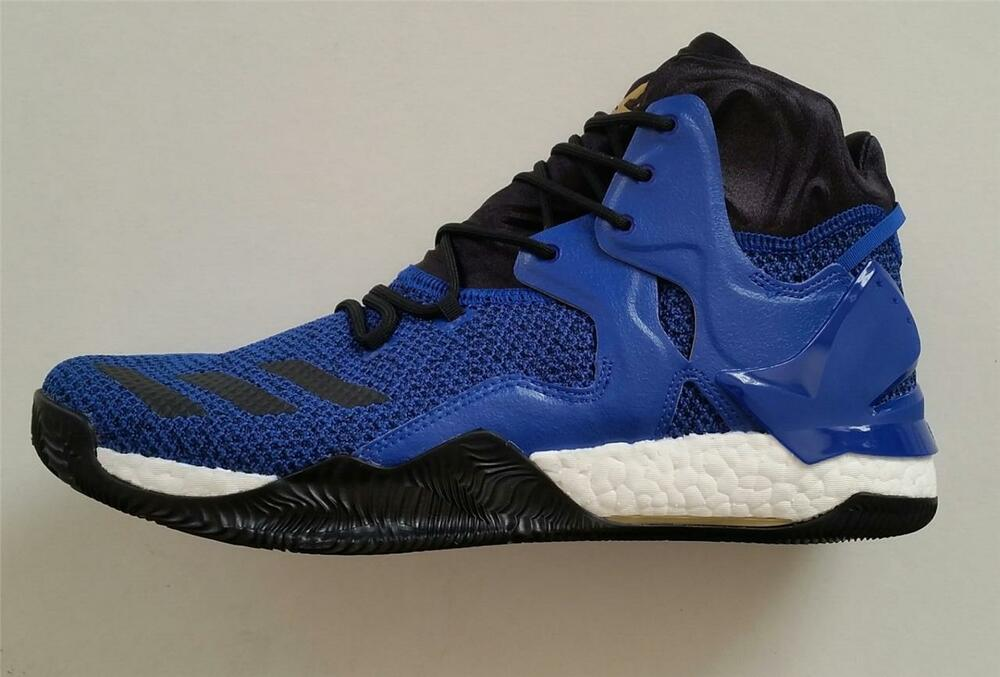 Adidas Hommes Chaussures DERRICK ROSE 7 Basketball Chaussures Hommes Bottes Royal NEUF 943a99