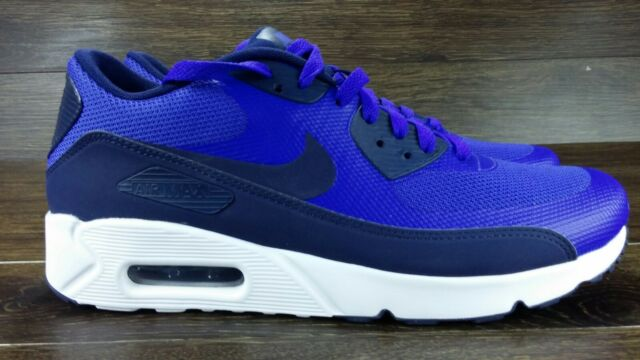 best website 870eb a6d7a Nike Air Max 90 Ultra 2.0 Essential Blue White Men Running Shoes 875695-400  11.5