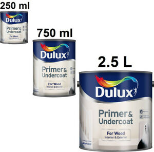 High Quality Image Is Loading Dulux Primer And Undercoat For Wood Interior And