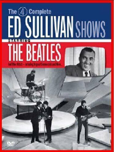 1 of 1 - The Four Complete Historic Ed Sullivan Shows feat. The Beatles 2 Discs [DVD]