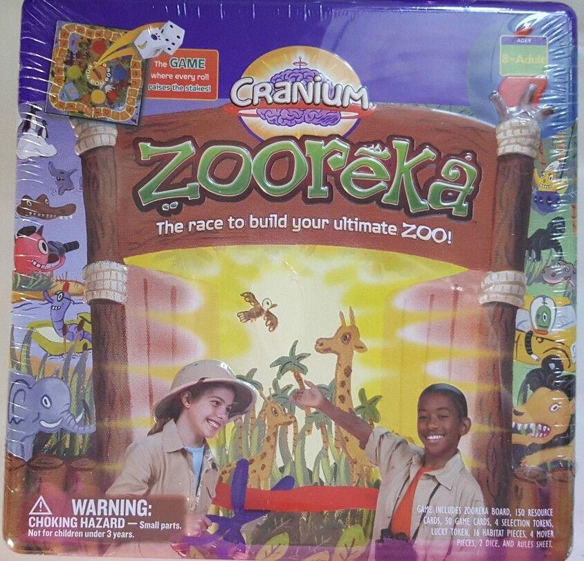 Cranium Zooreka Game in Collectable Square Square Square Tin eb0a07